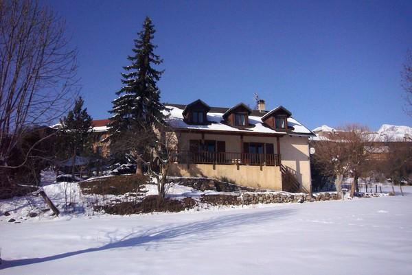 Les chambres d'hôtes des Combettes en hiver