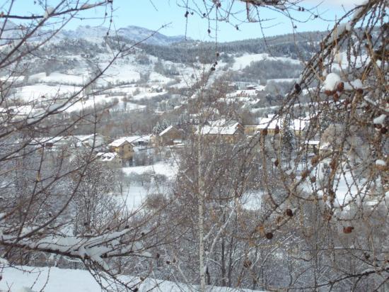 Les Combettes en hiver