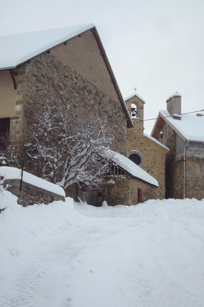Les Combettes sous la neige