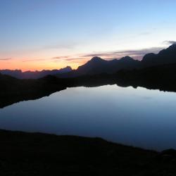 Pic Turbat dans la vallée du Valgaudemar
